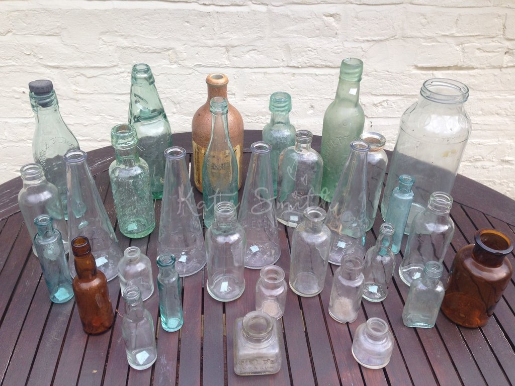 hand made decorative items stock workshop image bottles in the decor photo handmade